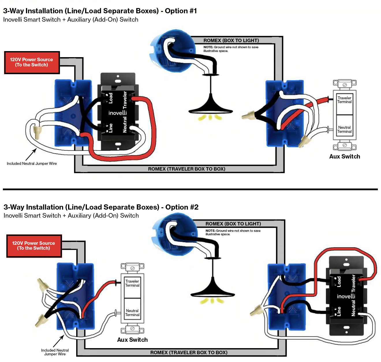 Dumb Switch For 3 Or 4 Way Setups Wiring Discussion Inovelli Community