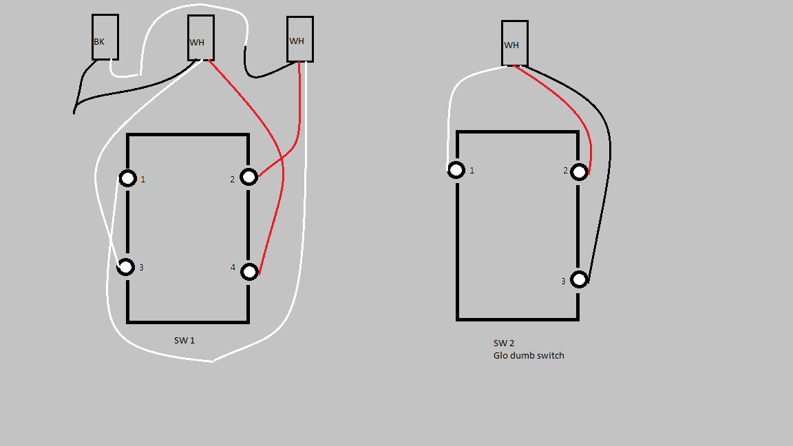lzw31 3-way but the primary is a 4-way switch