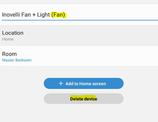 Lzw36 Fan Light Smartthings Device Handler Update 07 17 2020 Samsung Smartthings Inovelli Community